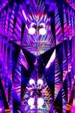 Абстрактные живые свет и refection цвета стоковые фото