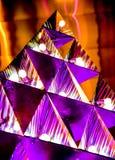 Абстрактные живые свет цвета и предпосылка refection стоковые фото