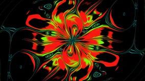 Абстрактный изменяя цветок