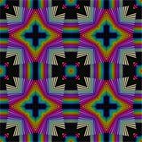 абстрактный kaleidoscope предпосылки Красивая multicolor текстура калейдоскопа перевод 3d стоковое изображение rf