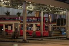 Автобусная станция стоковое фото rf