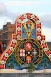 Англи-Лондон-Insignia железной дороги Chatham Дувра стоковые изображения rf