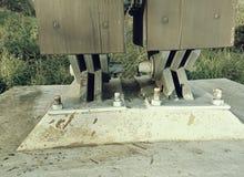 Анкер поддержки моста Наводить соединение балочного моста стоковое фото