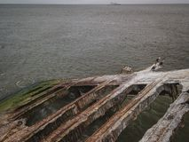 Антенна Cape May Нью-Джерси стоковая фотография rf