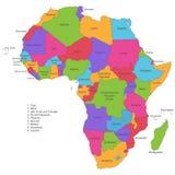 Африка - политическая карта Африки