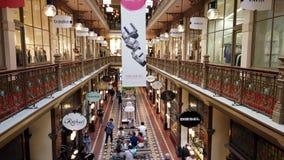 Аркада стренги, город Сиднея, Австралия сток-видео