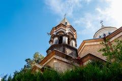 Армянский апостольский спаситель Святого Surb Христос Amenaprkich церков в Батуми, Грузии стоковое изображение rf