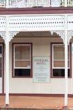 Архитектура стиля Filgree федерации, федеральная гостиница, Childers, Квинсленд, Австралия стоковые фотографии rf