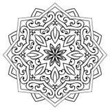 Аbstract ornamental mandala. royalty free stock images