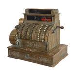 Аncient cash register Stock Image