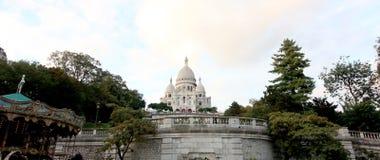 Базилика Sacre Coeur, Париж, Франция стоковое фото