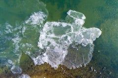 Балтийское море в зиме стоковые изображения rf