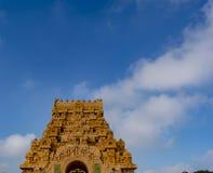 Башня входа виска Thanjavur большая стоковое фото rf