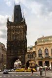 Башня порошка или ворота порошка стоковые изображения rf