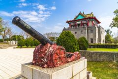 Башня Juguang в Kinmen, Тайване стоковые фотографии rf