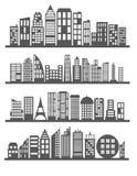City landscape vector vector illustration