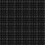 Белый на картине вектора черной сетки металла безшовной r иллюстрация штока