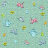 Бесконечная текстура для дизайна весны, украшения, поздравительных открыток стоковое фото rf
