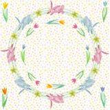Бесконечная текстура для дизайна весны, украшения, поздравительных открыток стоковые изображения rf