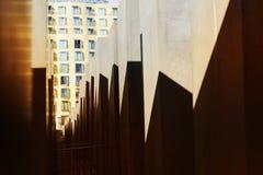 Берлин, Германия, мемориал, жертвы холокоста, туристы, архитектура, искусство, блок, Европа, фашизм, музей стоковое фото