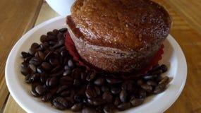 Блинчик с кофе на завтрак стоковая фотография rf