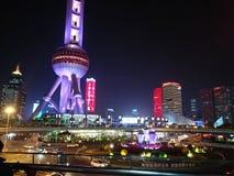 Бунд Шанхая, Китая стоковые изображения