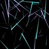 Быстрое влияние движения неонового света иллюстрация штока