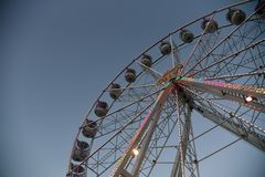 Большое колесо на гавани Валентайн стоковое изображение