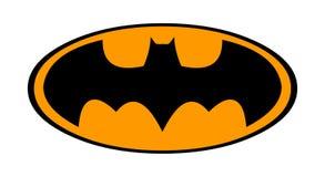 Вектор логотипа бэтмэн Черная иллюстрация летучей мыши бесплатная иллюстрация
