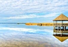 Весь главный залив стоковая фотография rf