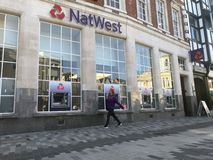 Ветвь Natwest стоковые изображения rf