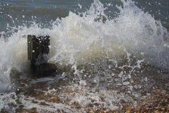 Ветер принимая волну стоковая фотография rf