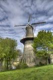 Ветрянка в Schiedam, Голландии стоковая фотография