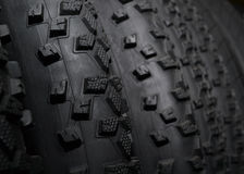 Bicycle tires for off-road driving. Top quality bicycle tires. Velosipednii pokryshki royalty free stock photos