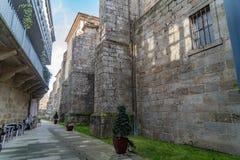 Взгляды улиц Celanova стоковые фотографии rf