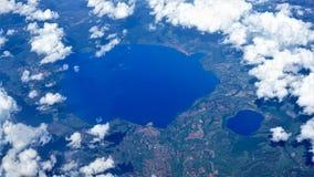 Взгляды от максимума на итальянских озерах, Италии стоковое фото