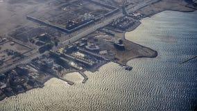 взгляд от египетских воздушных судн стоковая фотография