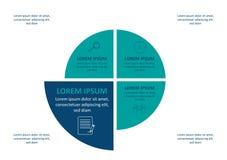 Визуализирование коммерческих информаций Технологическая карта операций Абстрактные элементы диаграммы, диаграммы с шагами, вариа иллюстрация штока