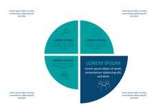 Визуализирование коммерческих информаций Технологическая карта операций Абстрактные элементы диаграммы, диаграммы с шагами, вариа бесплатная иллюстрация