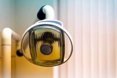 Винтажный зубоврачебный светлый конец вверх стоковое изображение
