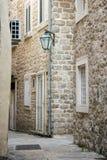Винтажный уличный фонарь стоковая фотография rf