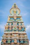 Висок Бангалора красочный стоковое фото