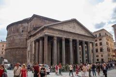 Висок пантеона стоковая фотография