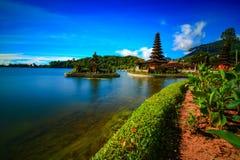 Висок Ulun в Бали стоковое изображение