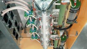 Внутренний блок системы ровного запуска система начала мульти-двигателя мягкая акции видеоматериалы