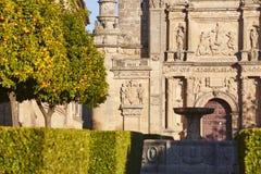 Всемирное наследие ЮНЕСКО Ubeda Часовня Сальвадора священная Jaen стоковое фото
