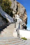 Вход к монастырю пещеры Bakhchisaray стоковые изображения