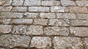 Вымощать камня улицы в Юньнань, Китае стоковые изображения rf