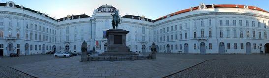 Высокая панорама разрешения различных городов как Гамбург Flensburg и Вена стоковое фото