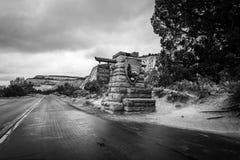 Высочество национального парка Сион стоковая фотография rf